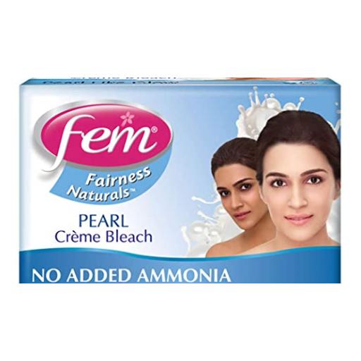 Fem Fairness Naturals Pearl Creme Bleach, 8g