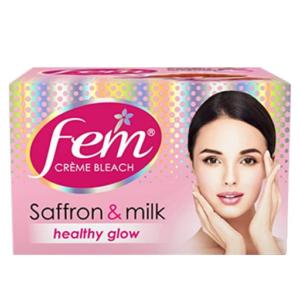 Fem Fairness Naturals Saffron Skin Bleach, 8g