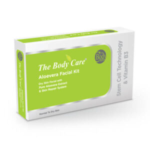 The Body Care Pure Aloe Vera  Facial Kit