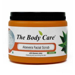 The Body Care Aloe Vera Facial Scrub, 100ml