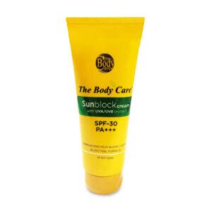 The Body Care Sun Block Cream SPF-30, 100ml