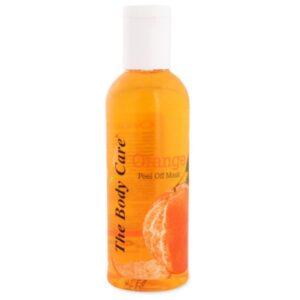 The Body Care Orange Peel Off Mask, 100ml