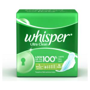 Whisper Ultra Cleans