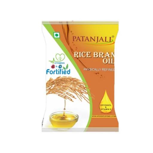 Patanjali Rice Bran Oil Pouch