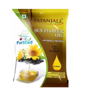 Patanjali Sunflower Oil Pouch