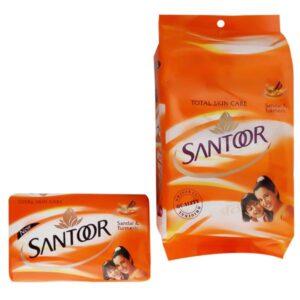 SANTOOR SOAP SANDAL & TUERMURIC