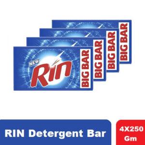 Rin Detergent Bar, 4×250 G