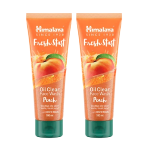 Himalaya Fresh Start Oil Clear Face Wash Peach Pack of 2