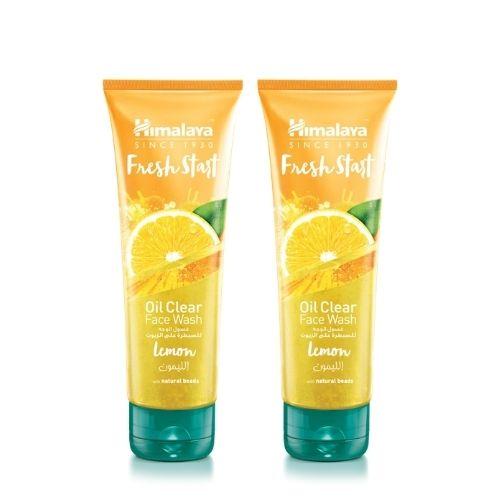 Himalaya Fresh Start Oil Clear Face Wash Lemon Pack of 2