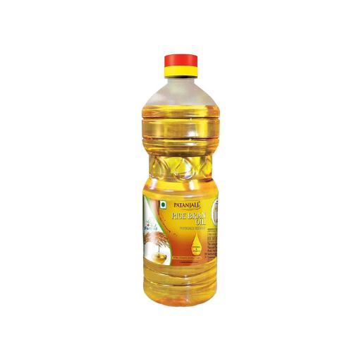 Patanjali Rice Bran Oil Bottle