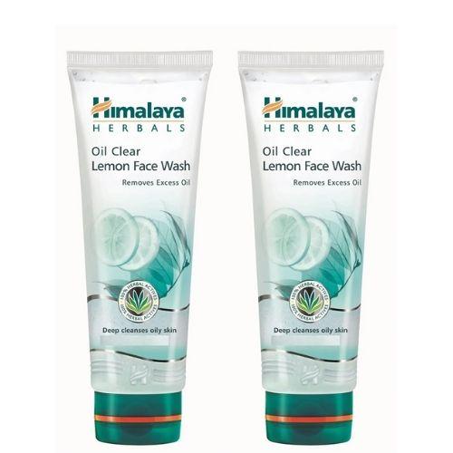 himalaya oil clear lemon face wash 100ml
