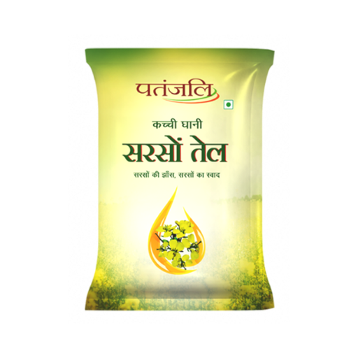 Patanjali Mustard Oil Pouch
