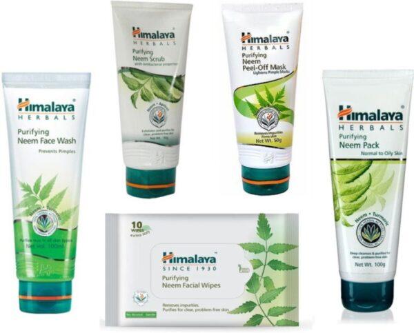 HIMALAYA Neem Skin Care Combo (5 Items in the set)